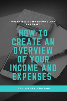 #howtocreateanoverviewofyourincomeandexpenses #howtocreateoverviewofyourexpenses #myfinancialjourney #howto #finance