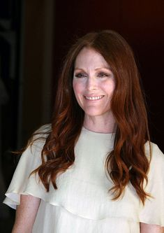 "Julianne Moore: ""I hate to condemn people for using Botox, but I don't believe it makes people look better- it just makes them look like they had something done to their face. When you look at somebody who's had their face altered in some way, it just looks weird."""