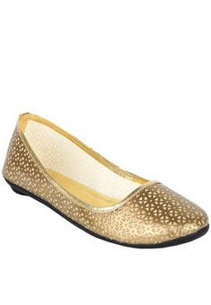 Golden Belly Shoes #MyYDHDLook
