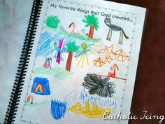 notebooking creation for kids