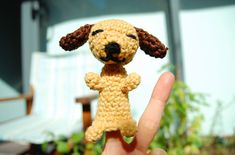 Amigurumi finger puppet