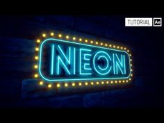 Neon - Tutorial After Effects - YouTube