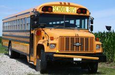 School Buses - Chevy, Yellow, Big, Buses