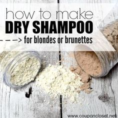 DIY Dry Shampoo (for blondes and brunettes) - Coupon Closet