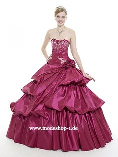 Quinceaner​a Abendmode 2013 Ballkleid Baranof Island in Lila  www.modeshop-1.de