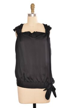 In The Pink Sheer Black Sleeveless Top Size S   ClosetDash #fashion #style #tops #blouses