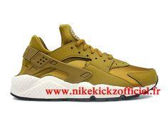 f4cb562782f Nike Air Huarache Run Chaussure Nike Basket Pas Cher Pour Homme Or