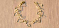 Easy Tutorial on Making Heart Wire Bracelet