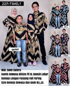 34 Gambar Baju Batik Couple Gamis Terbaik