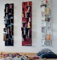 Creative Bookshelves Designs for Stylish Bookshelves: Creative Bookshelves Designs ~ clusterfree.com Best of Design Inspiration