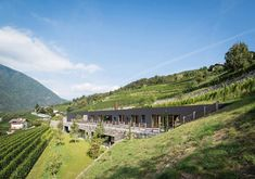 Spectacular Winery Architecture in Bozen, Italy | http://www.designrulz.com/design/2015/11/spectacular-winery-architecture-in-bozen-italy/