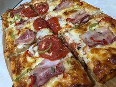 Για απόψε super special πίτσα με αφράτη ζύμη - (σπιτική ζύμη με sprite) - Χρυσές Συνταγές Cookbook Recipes, Cooking Recipes, Hawaiian Pizza, Vegetable Pizza, Vegetables, Food, Chef Recipes, Essen, Vegetable Recipes
