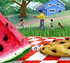 Kathleen Rietz - Children's Book Illustrator: And the ants go marching...