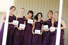 wedding photo / bridal party