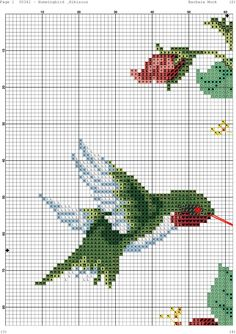 Hummingbird and Hibiscus Cross Stitch Gallery, Cross Stitch Tree, Cross Stitch Books, Cross Stitch Needles, Beaded Cross Stitch, Cross Stitch Animals, Cross Stitch Flowers, Cross Stitch Charts, Cross Stitch Designs