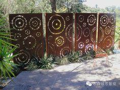 木森景观丨创意景墙在园林景观中的应用 - 图文吧
