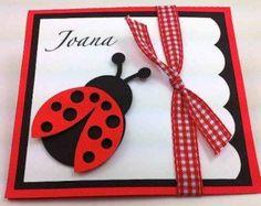 cartões de joaninhas artesanal - Pesquisa Google