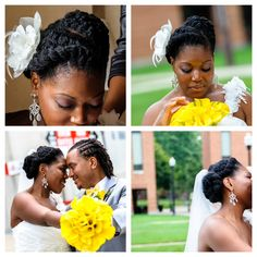 Tracey Boggs: Natural Hair Bride   Curly Nikki   Natural Hair Styles and Natural Hair Care