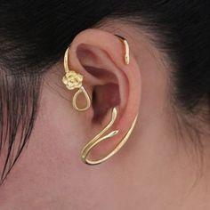 Beauty and the Beast Earrings Ear Cuff - Belle