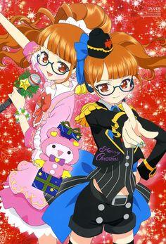 hara shoji pripara minami mirei christmas dress megane thighhighs | #336857 | yande.re Miku Chan, New Series, Yandere, All Pictures, Merry Christmas, Idol, Fandoms, Kawaii, Manga