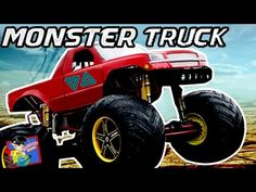 monster trucks collection racing games for kids videos for children cartoon rhymes