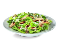 Salade avec Bacon et vinaigrette ranch de Subway