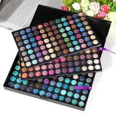 Collection The Most Unique You! Makeup now! - Banggood  Pro 252 color maquillaje brillo cosmético paleta completa de sombra de ojos mate