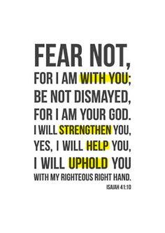 Fear not . . .