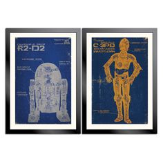 Hey, I found this really awesome Etsy listing at https://www.etsy.com/listing/70896749/star-wars-droid-poster-2-pack