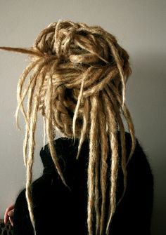 Blonde locs like these are what started my fascination with getting my own done...