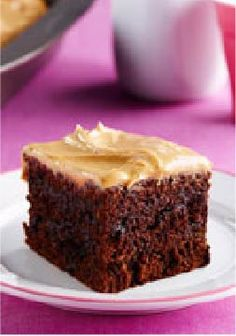 Double Chocolate-Peanut Butter Snacking Cake – This easy Double Chocolate-Peanut Butter Snacking Cake can be ready for the oven in just 15 minutes.