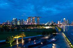 Singapore marina Barrag