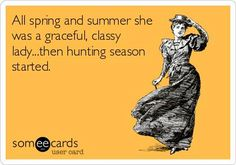 Mud, dirt, sweat, blood and guts, fur and feathers! Yep this sure is true for me ;)