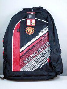 Manchester United Team Logo Backpack - 001 by Rhinox. $29.95