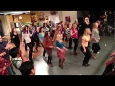 """Big Bang Theory"" Flashmob! oh my gosh."