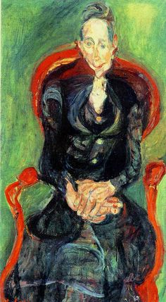 Melanie, the School Teacher, 1922, Soutine
