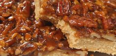 Try This Pecan Pie Bar Recipe For Your Next Delicious Dessert - Suggested Post Cookie Desserts, Easy Desserts, Cookie Recipes, Dessert Recipes, Dessert Simple, Yummy Treats, Sweet Treats, Yummy Food, Biscuits