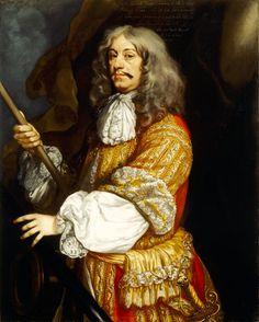 ADMIRAL CORNELIS VAN TROMP (1629-91) by Borsselaer