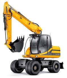 Heavy Machinery by JCB - http://MaskinVerket.se #JCB
