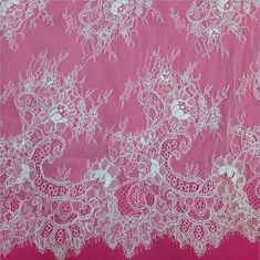 Cording Chantilly Eyelash Lace Fabric Bridal by sunnyfashionstore 60$/3 meters