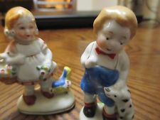 Occupied Japan Figurines - boy / girl