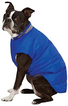 Casual Canine North Paw Vibrant Puffy Vest for Dogs 16 Medium Blue    Read  more aacd02112