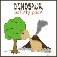 Dinosaur Activity Pack;  www.makeoversandmotherhood.com