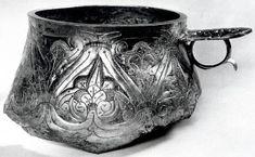 Aranyozott ezüst csésze, Zemplén Metal Working, Metalworking
