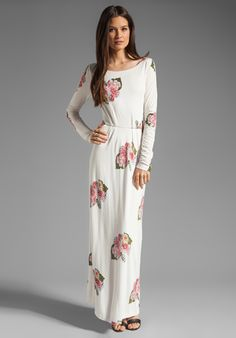 PENCEY STANDARD Open Back Dress in Floral at Revolve Clothing - Free Shipping!