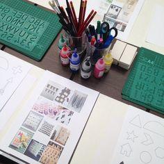imakin behind the scenes: workshop