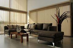 Persianas de interires lamas verticales para sala for Diseno hogar mendoza