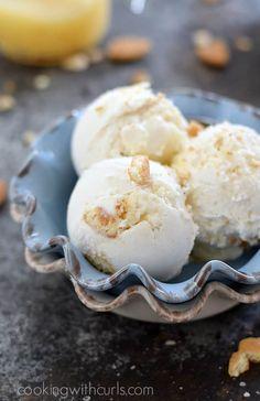 Fun Baking Recipes, Lemon Recipes, Best Dessert Recipes, Ice Cream Recipes, Summer Recipes, Best Homemade Ice Cream, Homemade Vanilla, Cheesecake Ice Cream, Lemon Cheesecake