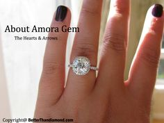 The Amora Gem, in the same way as moissanite, is not local to planet Earth. It is discovered regularly in expansive stars in temperatures that would soften characteristic precious stone. The Amora Gem is a completely new manufactured gemstone and has truly recently ended up at a bargain.More information go to this link -  http://betterthandiamond.com/brands/Amora-Gem.html