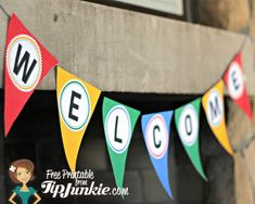 13 Olympic Games Printable Party Decor from Tip Junkie!} – Tip Junkie 13 Olympic Games Printable Party Decor from Olympic Games For Kids, Olympic Idea, Kids Olympics, Winter Olympics, Senior Olympics, Office Olympics, Olympic Winners, Carnival Decorations, Welcome Banner